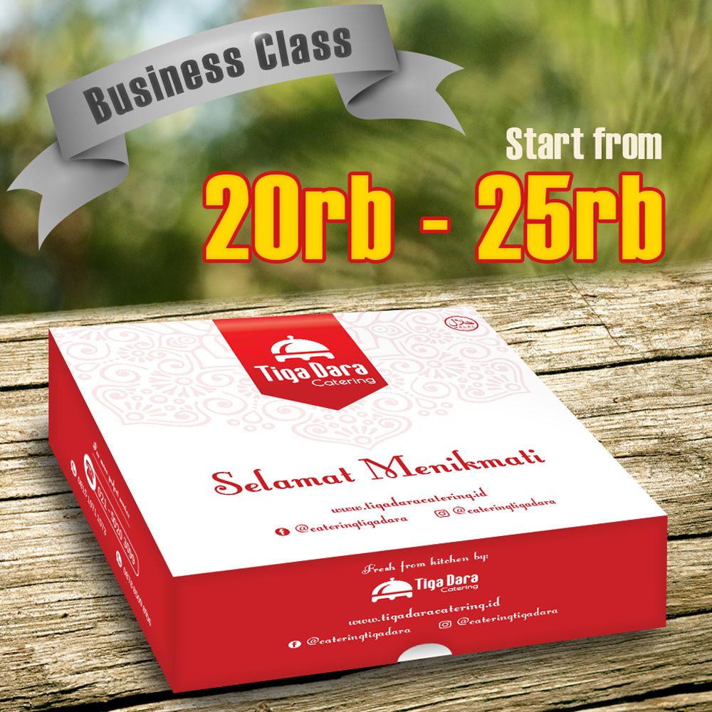 tiga_dara_*Nasi Box_Business Class | Paket 27