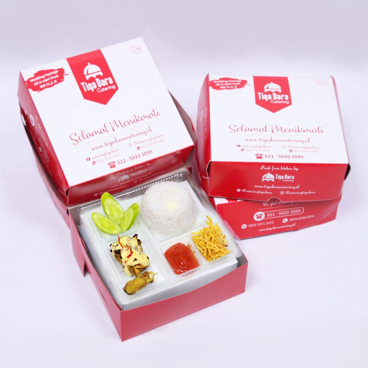 tiga_dara_*Nasi Box Enak & Murah_Business Class | Paket 31 (Ayam Geprek)