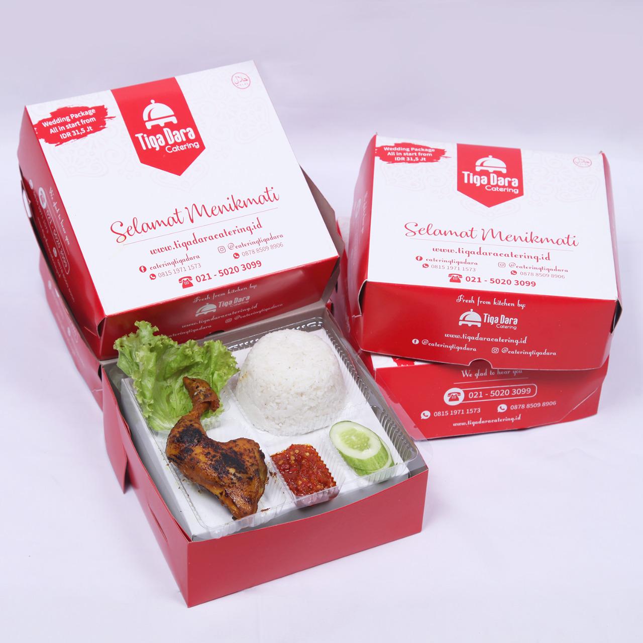 tiga_dara_*Nasi Box Enak & Murah_Economy Class | Paket 1