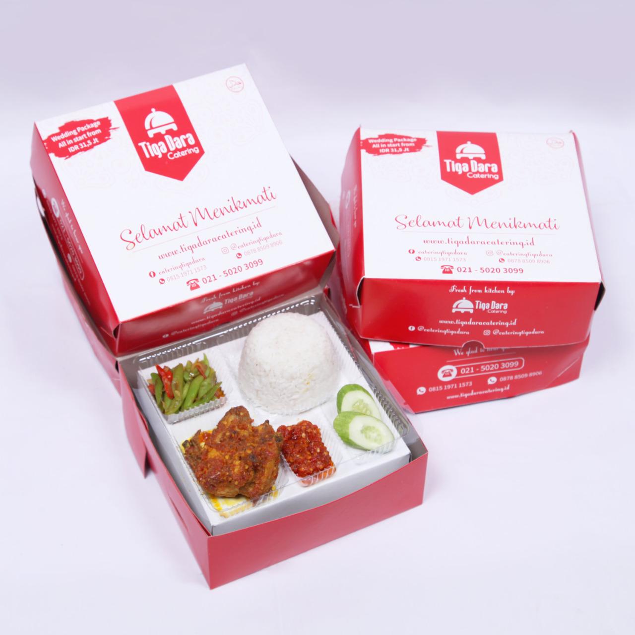 tiga_dara_*Nasi Box Enak & Murah_Economy Class | Paket 2