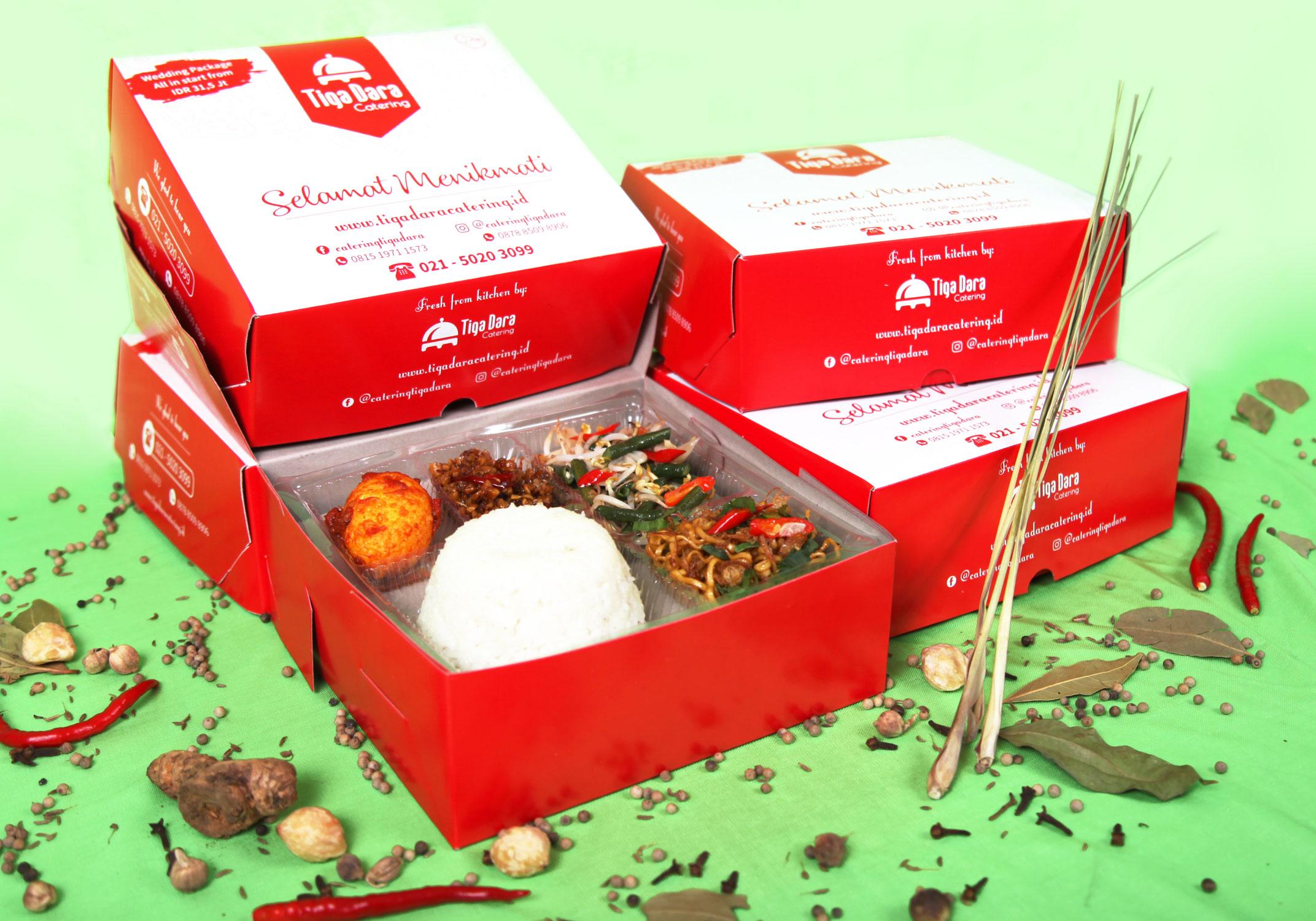 tiga_dara_*Nasi Box Enak & Murah_Economy Class | Paket 3
