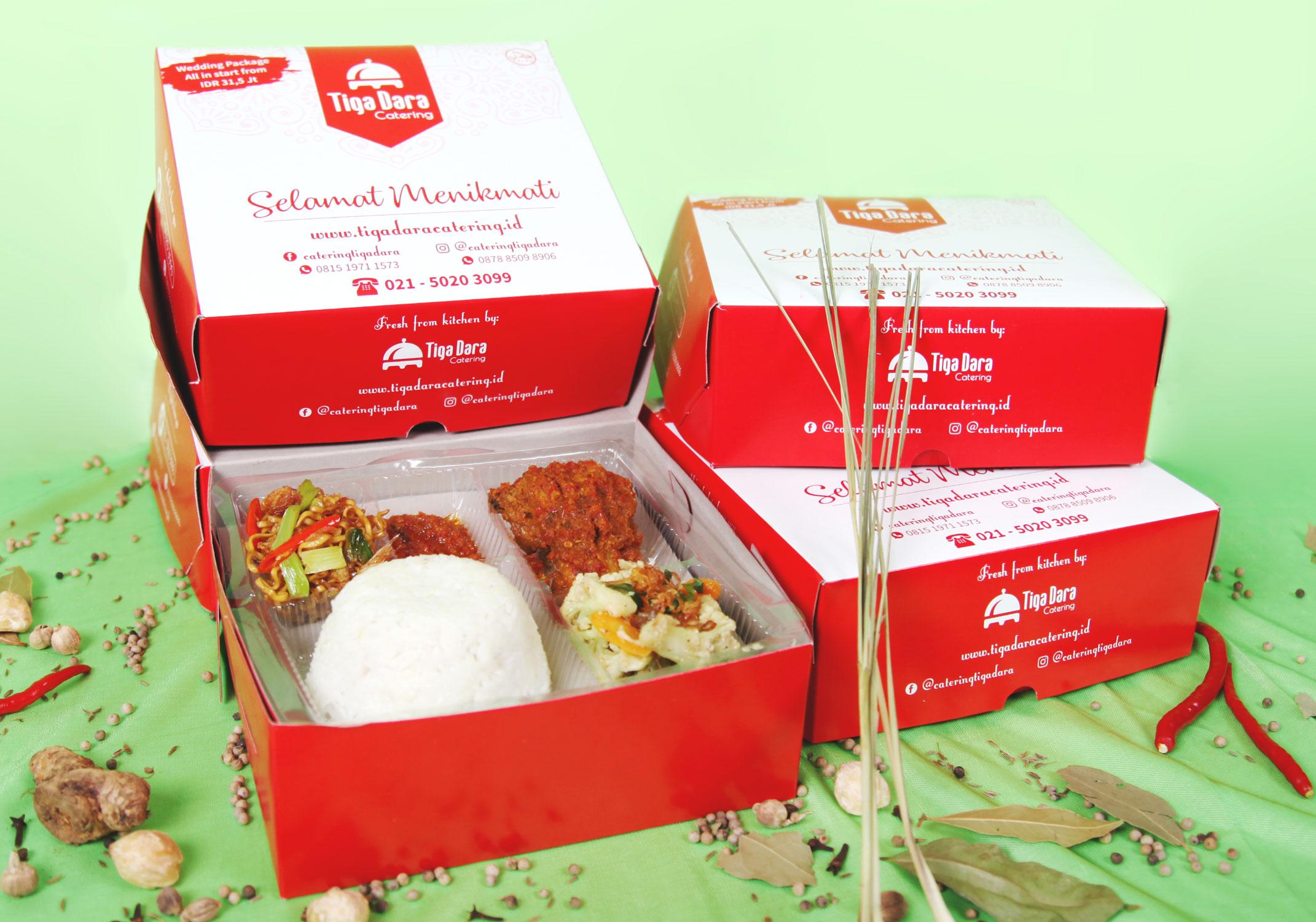 tiga_dara_*Nasi Box Enak & Murah_Economy Class | Paket 4