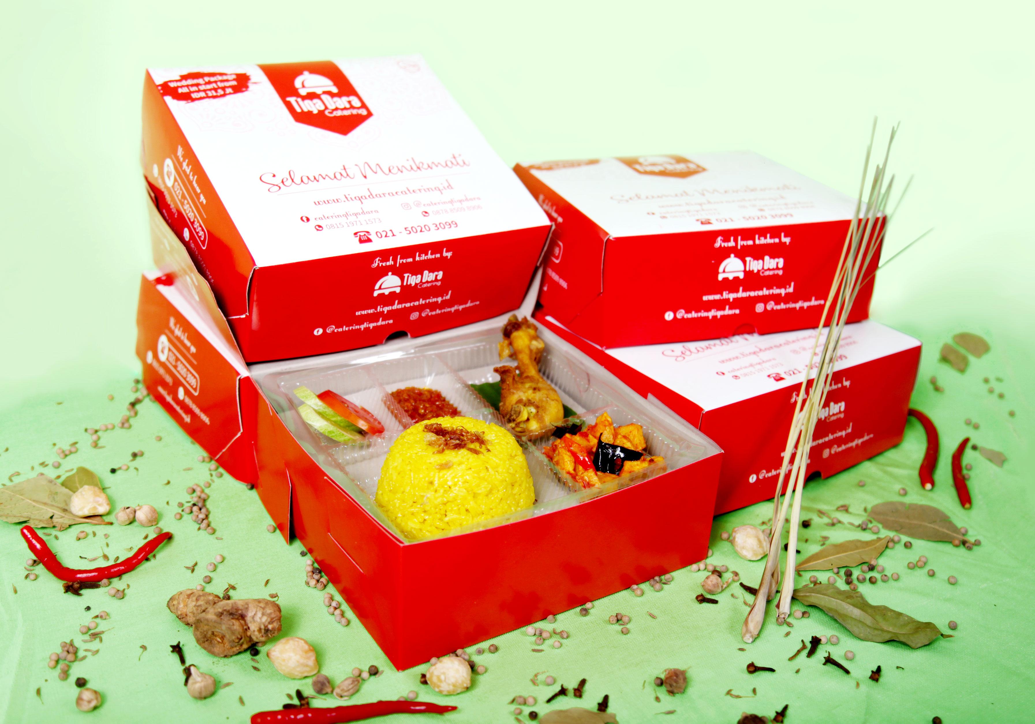 tiga_dara_*Nasi Box Enak & Murah_Economy Class | Paket 5