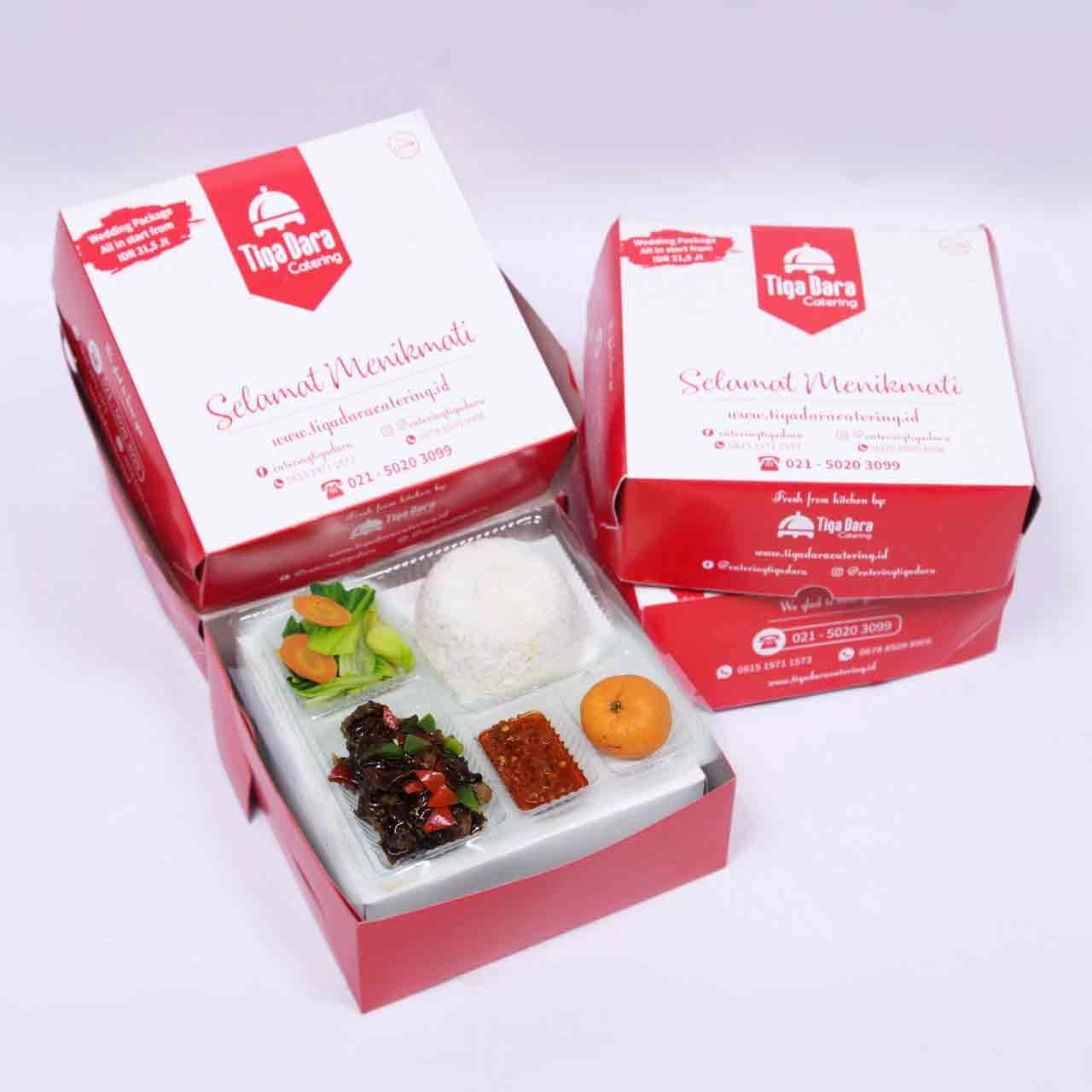 tiga_dara_*Nasi Box Enak & Murah_First Class | Paket 1