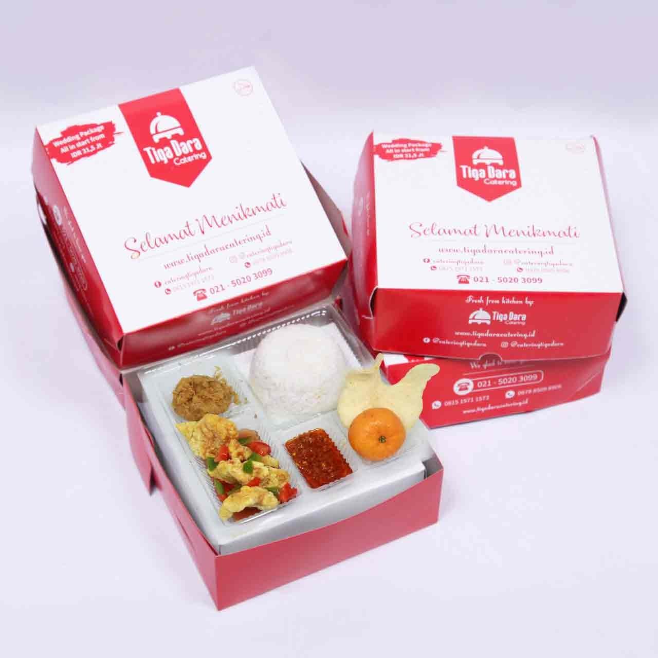 tiga_dara_*Nasi Box Enak & Murah_First Class | Paket 11