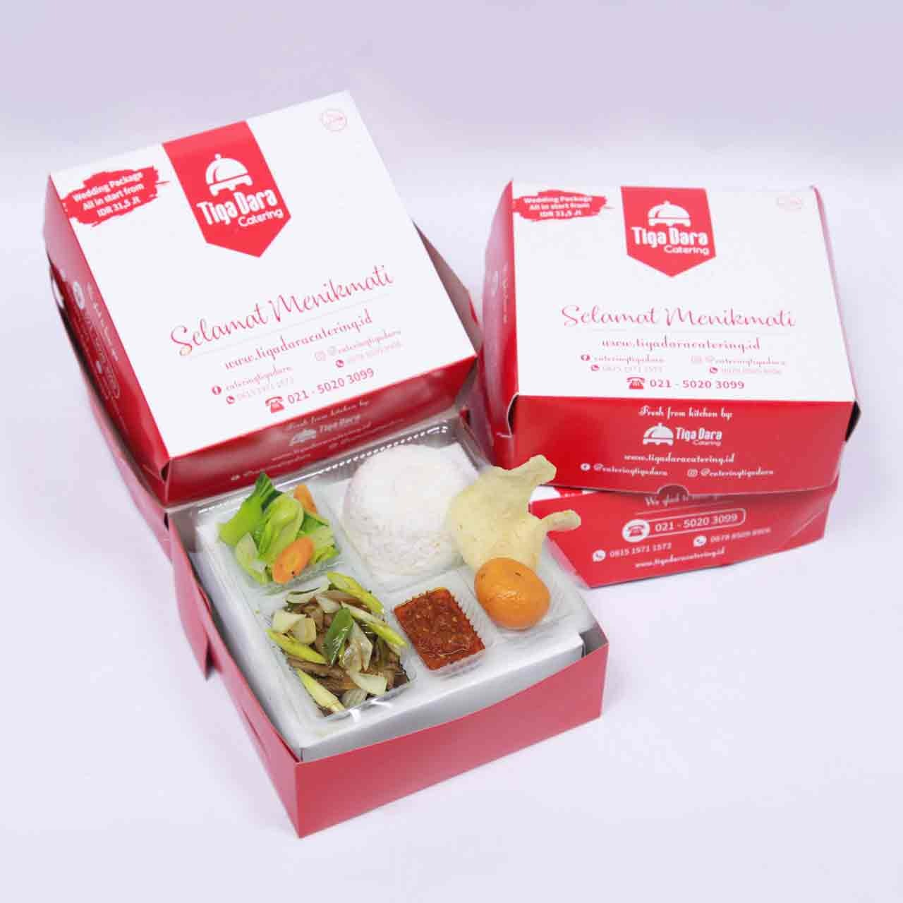 tiga_dara_*Nasi Box Enak & Murah_First Class | Paket 12