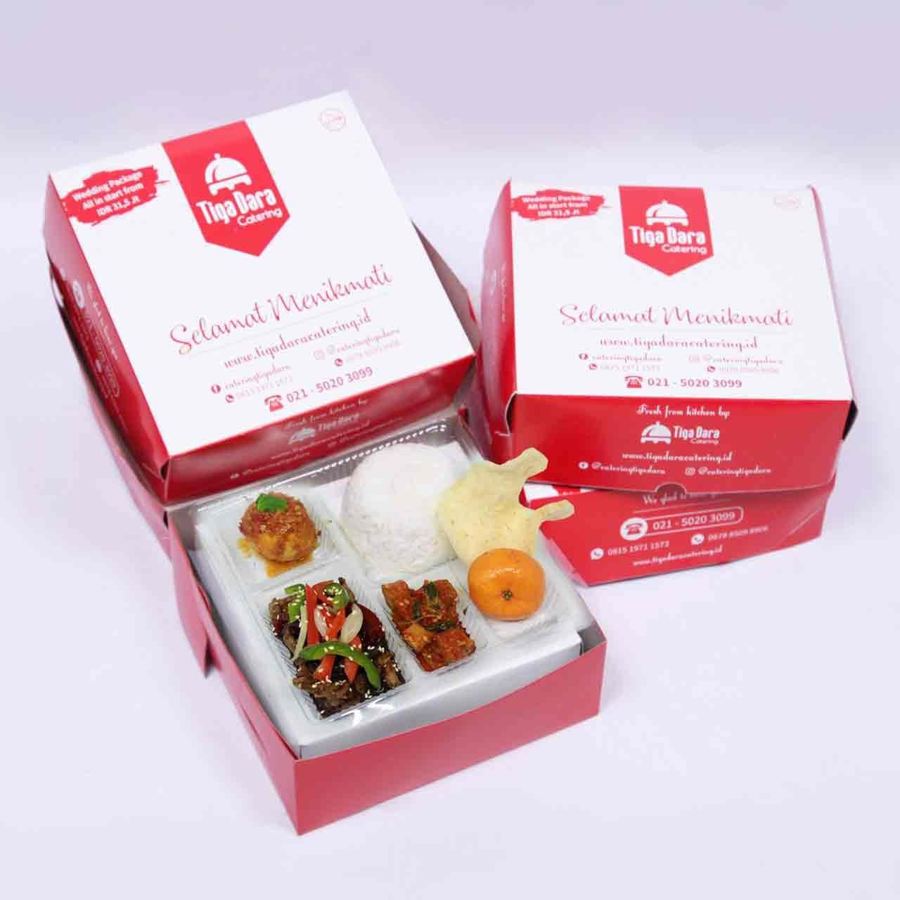 tiga_dara_*Nasi Box Enak & Murah_First Class | Paket 3