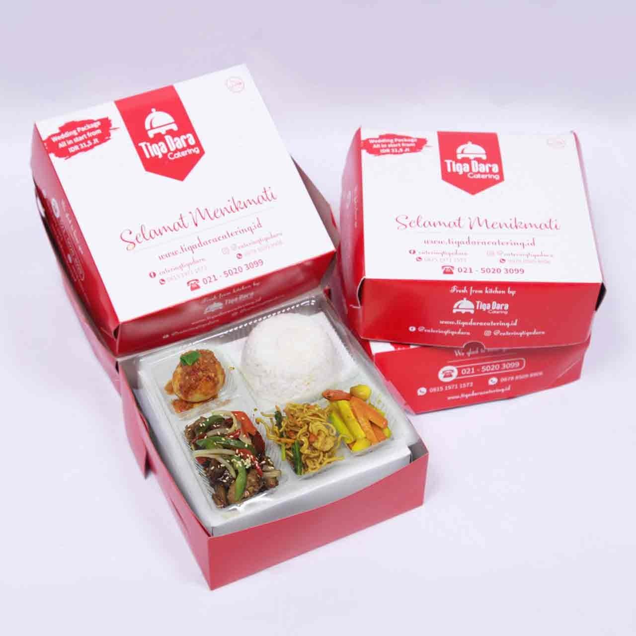 tiga_dara_*Nasi Box Enak & Murah_First Class | Paket 8