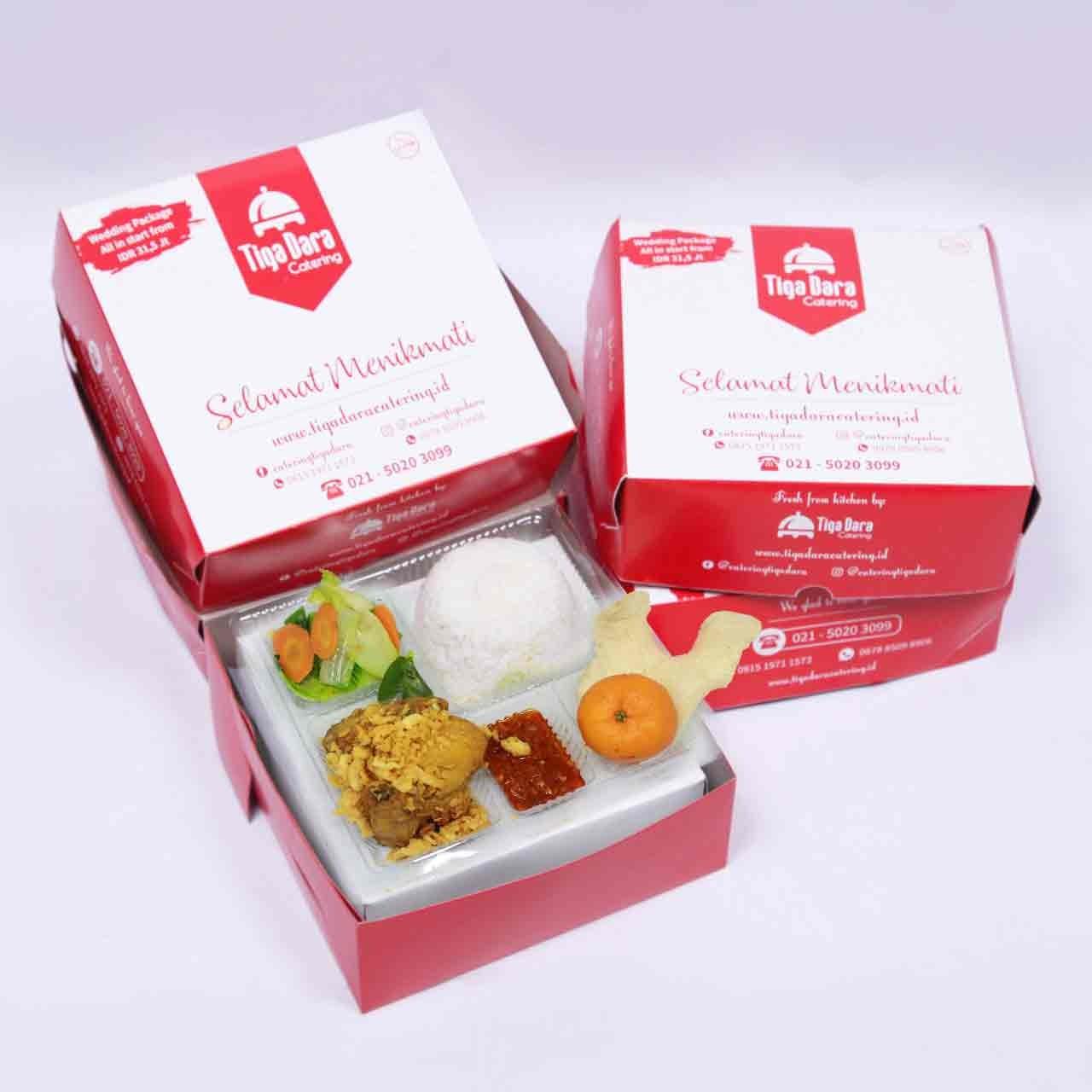 tiga_dara_*Nasi Box Enak & Murah_First Class | Paket 9